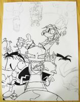 Invader ZiM Poster WIP UPDATED by TMNT1984