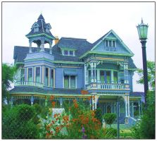 VICTORIAN HOUSE by Anjelikka