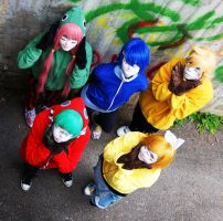 Matryoshka group photo 4 by Kiosa