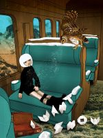 Snow Train by Mad-moiselle