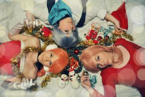 Merry Christmas Final Fantasy XIII by LauzLanille