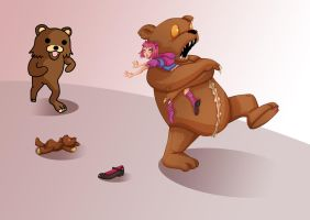 Tibbers VS Pedobear - League of Legend by Val-eithel