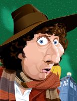 The 4th Doctor by kgreene
