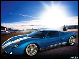 Ford Gt by aNqUi