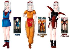 Self-made chara in DB Xenoverse by Reenisia