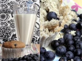 +40 Blueberry Muffin and Milk by Jezobel
