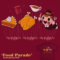 Food Parade - tee by InfinityWave