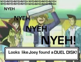 Joey found a Duel Dsk by JackGrimm