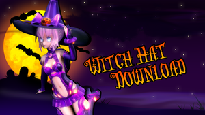 MMD Witch Hat Download by Digitrevx