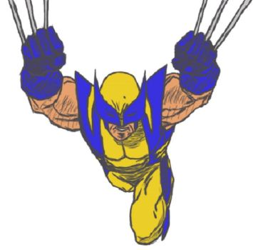 Wolverine: Jumptoss colour by yveld