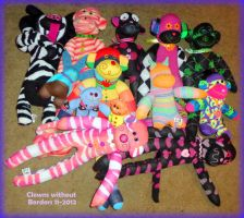 13 fabulous sock creatures by wiccanwitchiepoo