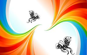 Butterfly Rainbows by artislife22