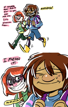 chara is a good stepbrother by coulrophiliacs