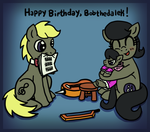 Happy Birthday, Bobthedalek! by foxgirlKira