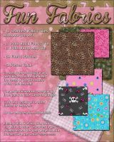 Resource Fun Fabrics by cosmosue