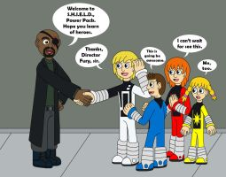 Power Pack joins the S.H.I.E.L.D. by MCsaurus