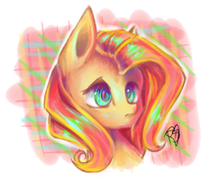 Fluttershy by PrettyShineGP