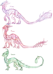 Experiment Sketches by Wyrmin
