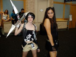 Yuffie and Tifa by xboxdude7281