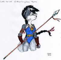 Lupe: Wolf P FF - Colored by dragonheart07