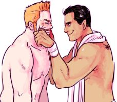 Sheamus and Del Rio by GreenWild