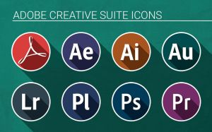 Adobe Creative Suite Icons by p--O--w