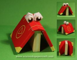 Cheato Papercraft by Drummyralf