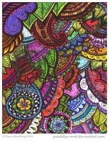 Paisley Mania by Quaddles-Roost