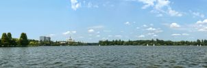 Herastrau Lake Panorama 2 by UNBREAKABLE2005