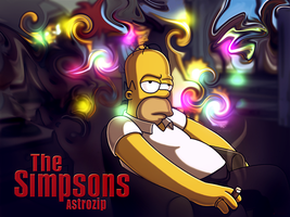 Simpsons Wallpaper by AsTRozip