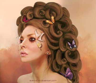 Butterfly by bluemo0on