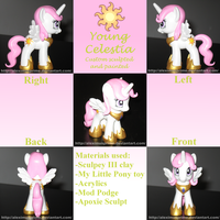 Custom Young Celestia (AotA:CH version) by AleximusPrime