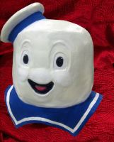 Mr Stay Puft by atomagedevilman