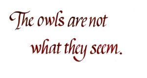 Twin Peaks - The Owls by MShades