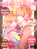 Cover Revista #5 - DreamTexture by Tsukipyon