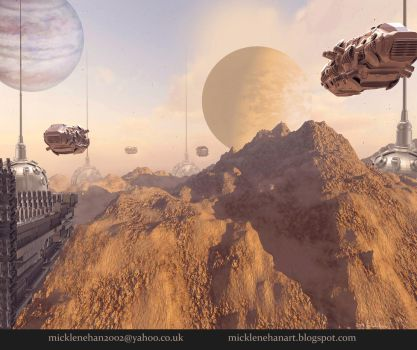 Rocky Planet by Mick2006