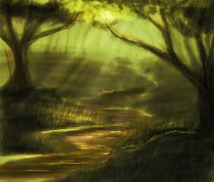 Forest by Mahiky