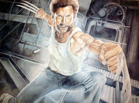 Wolverine by Nathalief87