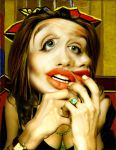 Picassoesque Angelina by funkwood