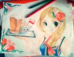 color pencils by husaria-chan