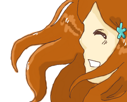 Smile of a Princess by xRhiRhix