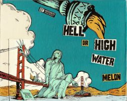 Hell or High Watermelon by marigoldwithersaway