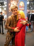 Meeting Vic Mignogna 2 by punkette180