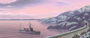 IJN light cruiser Kiso by U-Joe