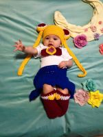 Baby Sailor Moon Outfit by psycholark