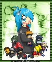 Akatsuki: konan play :3 by nennisita1234