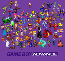 Gameboy Advance by SuperMaster10