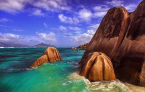 granite in turquoise II by fly10