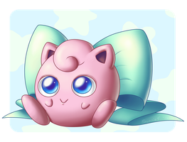 Ribbon Jigglypuff by SunnieF