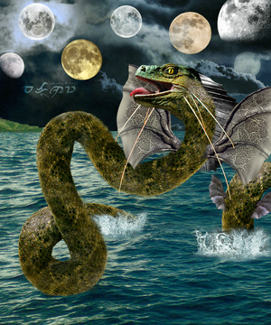 Bakunawa ~ The Moon Eating Water Dragon